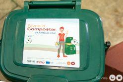 Silves distribuye contenedores para recogida selectiva de biorresiduos