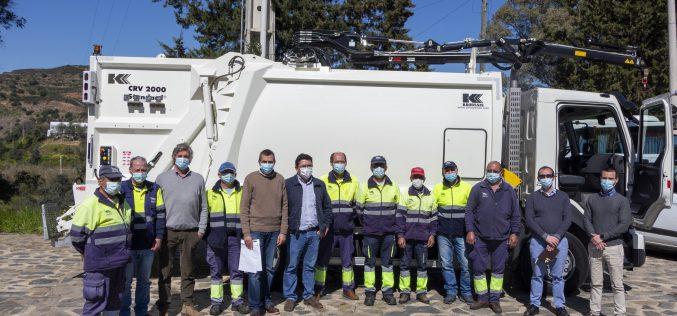 Alcoutim recibe nuevo vehículo de recogida de residuos