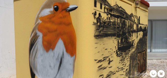 Nueva obra de Arte Urbano en Silves