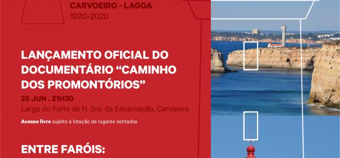 """El Centenario del Faro de Alfanzina se celebra con el documental """"Caminho dos Promontórios"""""""