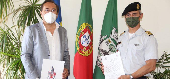 Patrullas del ejército portugués regresan al bosque de São Brás