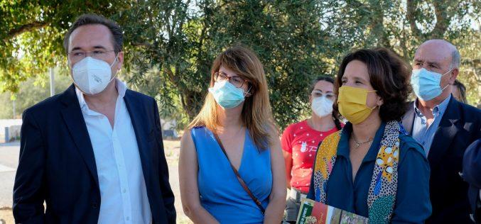 Autocaravana y sostenibilidad marcan la visita de la Secretaría de Estado de Turismo a São Brás de Alportel