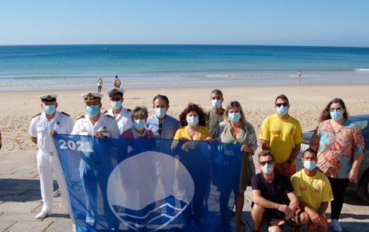 Bandera Azul 2021 otorgada a once playas de Vila do Bispo