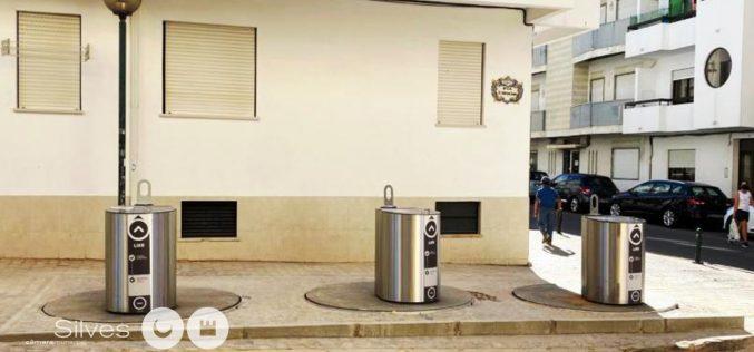 Silves apuesta por la modernización del sistema de recogida de residuos en Armação de Pêra