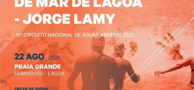 Lagoa organiza el 18ª campeonato de natación en aguas abiertas