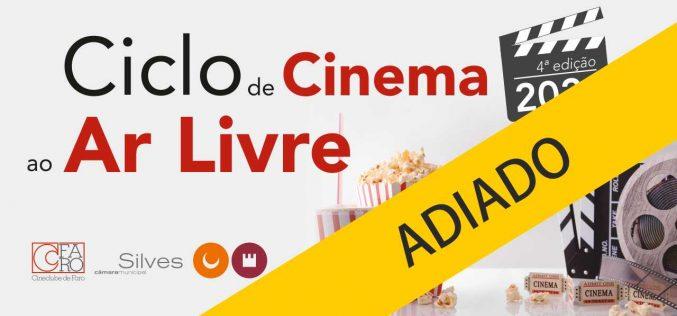 Silves paraliza el inicio del cine al aire libre