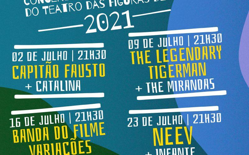 5 bandas emergentes del Algarve se unen en el Teatro das Figuras