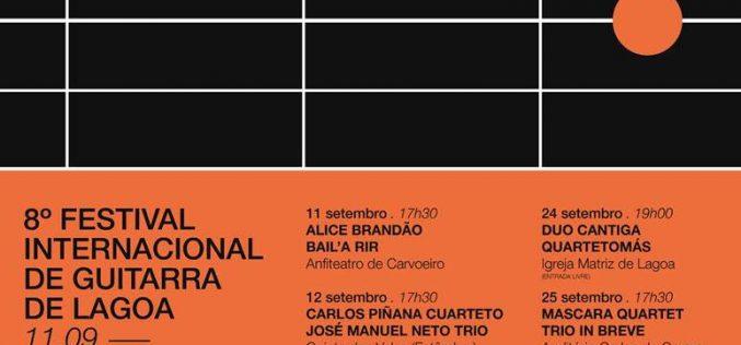 Lagoa organiza el VIII Festival Internacional de Guitarra