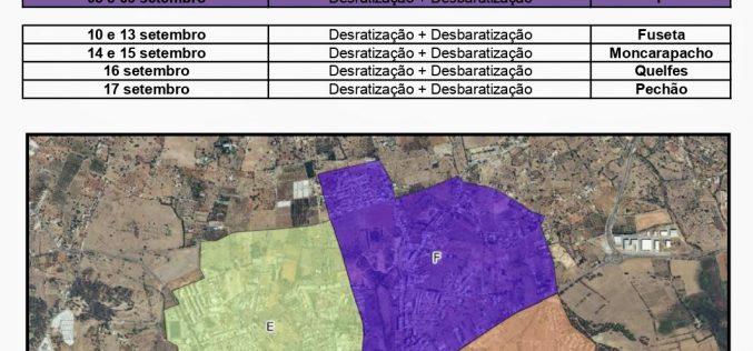 AmbiOlhão promueve campaña de desinsectación y desratización
