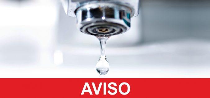 El abastecimiento de agua será interrumpido en algunas zonas de Silves