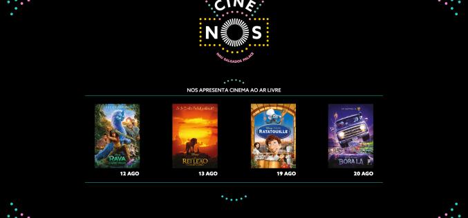 Hotel NAU Salgados Palace y Cine NOS presentan Open Air Cinema